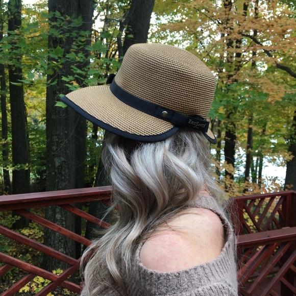 fa227dbf7 Eric Javirts Sun Crest Woven Sun Hat